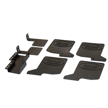 ARC0097 High Quality RC Car Front & Rear Mud Flaps for 1/10 Crawler Traxxas Trx-4 New Rubber Fender TRX4 1:10