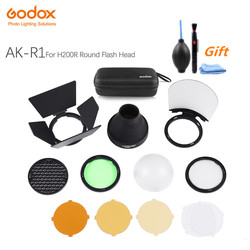 Godox AK-R1 Pocket Flash Light Accessories Kit for Godox H200R Round Flash Head AD200 Accessories Original fast shipping