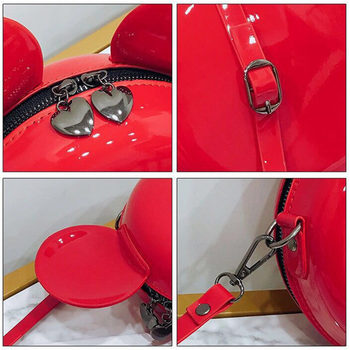 Heat Fashion Brand Design Women Mickey Shaped Bag Cute Funny Women Evening Bag Clutch Purse Chain Shoulder Bag for Birthday Gift 6