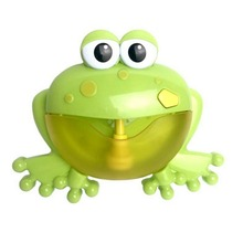 Bath & Shower Cartoon Cute Frog Automatic Bubble Machine Blower Maker Party Summer Outdoor Toy Bubble Generate Toy for Kids
