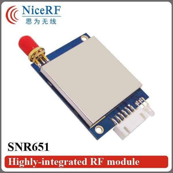 2 шт./упак. SNR651 433 МГц Интерфейс RS485 Embedded multi-портов Network Node Модуль для Беспроводных Сетей Передачи Данных