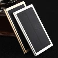 RHOADA Original 10000mAh Ultra Thin Solar Mobile Power Bank Charger For IPhone 6 6S Xiaomi Mi