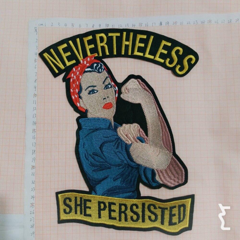 Ev ve Bahçe'ten Yamalar'de FengJu Riverdale Güçlü kadın Yamalar başarmak on Aplike Işlemeli Yama Giysi T shirt DIY Dekorasyon Patchwork 20 adet'da  Grup 1