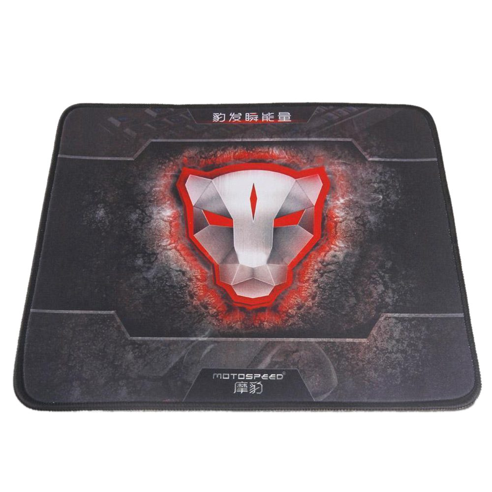 MOTOSPEED Gaming Mouse Mice Pad Mat Locking Edge Rubber 290*250*4mm Large for PC Game