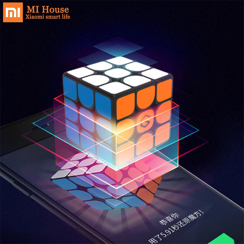 Update Version Original Xiaomi Mijia Giiker i3s AI Intelligent Super Cube Smart Magic Magnetic Bluetooth