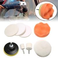 Car Windscreen Polishing Kit 10pcs/set Practical Auto Windows Scratch Remover Glass Polishing Kit Scratch Repair Tool