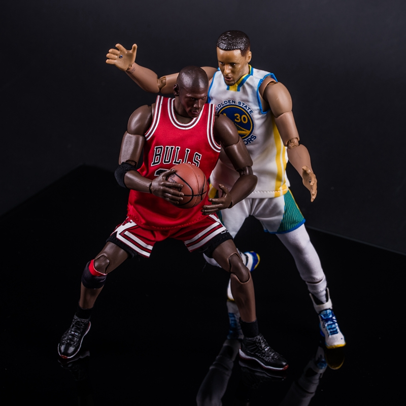 3e054994690 Basketball Characters jordan Curry James John Wall Joints Moveable. size  about 22cm. Baketball Player Action Figure Toys
