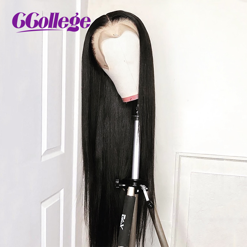CColllege Lace Front Human Hair Wigs For Black Women 12 24 Straight Brazilian Remy Hair Pre