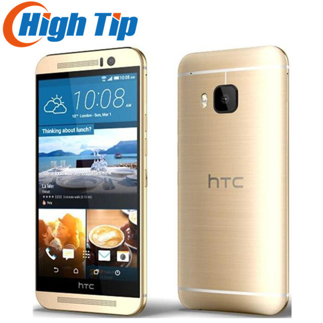 """Оригинальный разблокирована HTC One M9 GSM 3 г и 4 г Android Quad-Core Оперативная память 3 ГБ Встроенная память 32 ГБ мобильный телефон 5.0 """"WI-FI GPS 20MP Восстановленное челнока"""