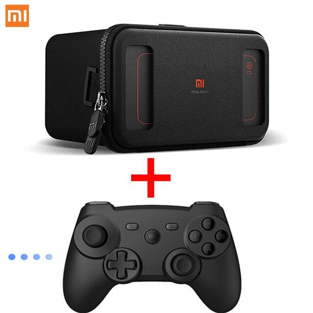 "New Arrivel Xiaomi VR Box VR Case VR Glasses  3D Virtual Reality Glasses MI VR Cardboard Virtual for  4.7~5.7"" Smartphone"