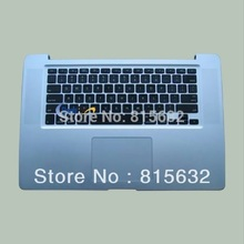 Tested FOR Macbook pro A1286 Palmrest Top Case Backlihgt US Keyboard & touchpad 2009