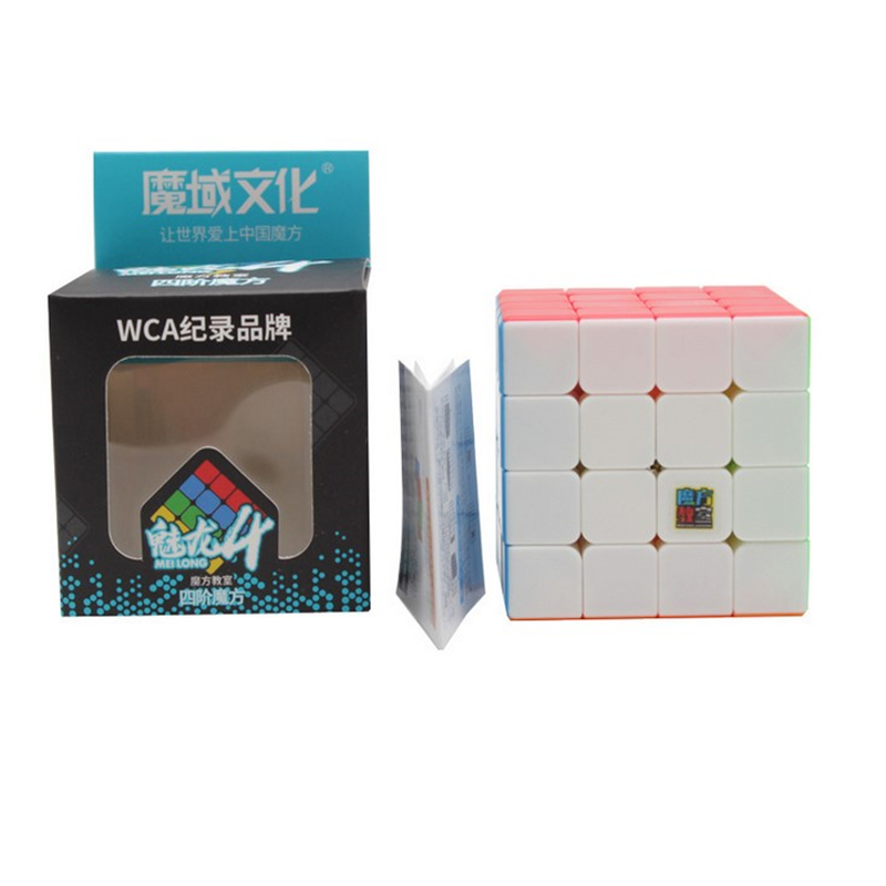 2019 New Cube Moyu MeiLong MF8826 4x4 Magic Cube High Quality Speed Magic Cube  Toys For Children Kids Cubo Magico - Colorful