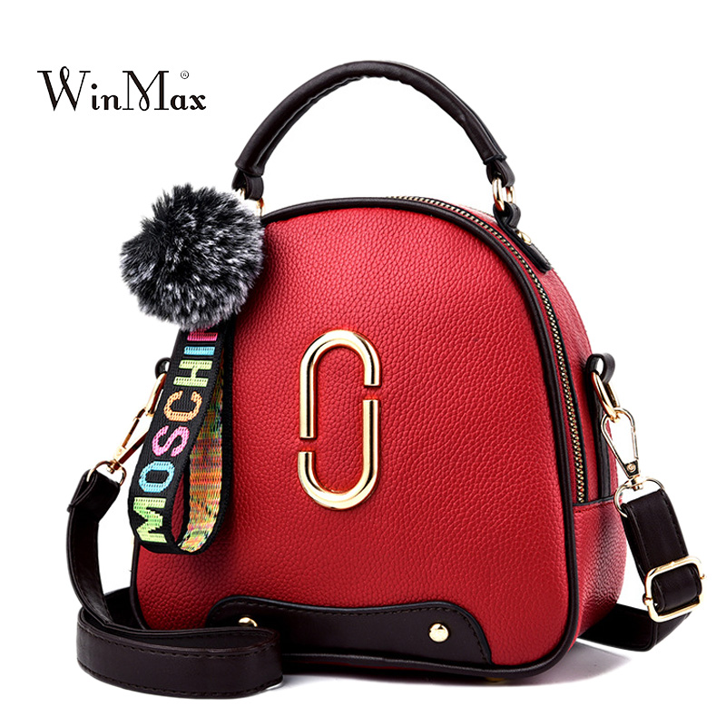 New Fashion Women Messenger Bags Women Shoulder Bags Crossbody Bag For Girls Bolsa PU Leather Handbag For Women Small Bags Sac new fashion women message bags with small purse metal ring handle leather handbag ladies girls trendy shoulder bag balestra