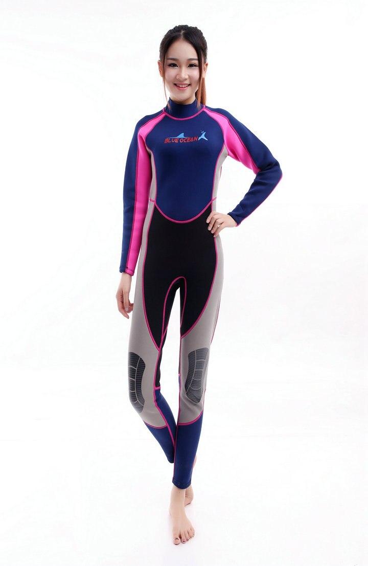 სკუბი diving wetsuit 3mm 2MM ლუქსი - სპორტული ტანსაცმელი და აქსესუარები - ფოტო 3