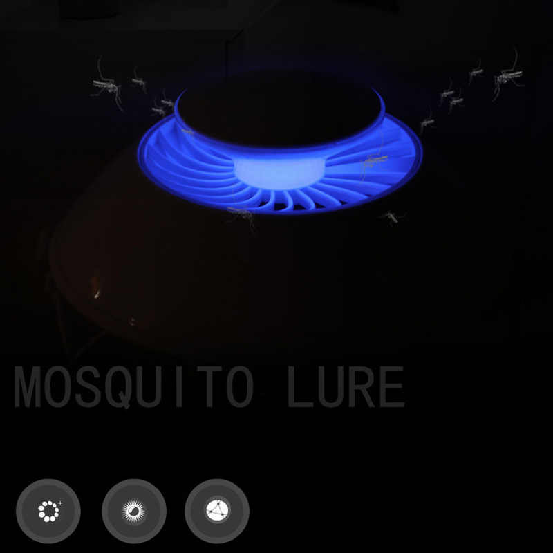 SOLOLANDOR москитная убийца лампы УФ бионическая ошибка ловушка для насекомых Zapper убийца электроники ловушка для насекомых USB Powered милые дети обувь для девочек Birthda
