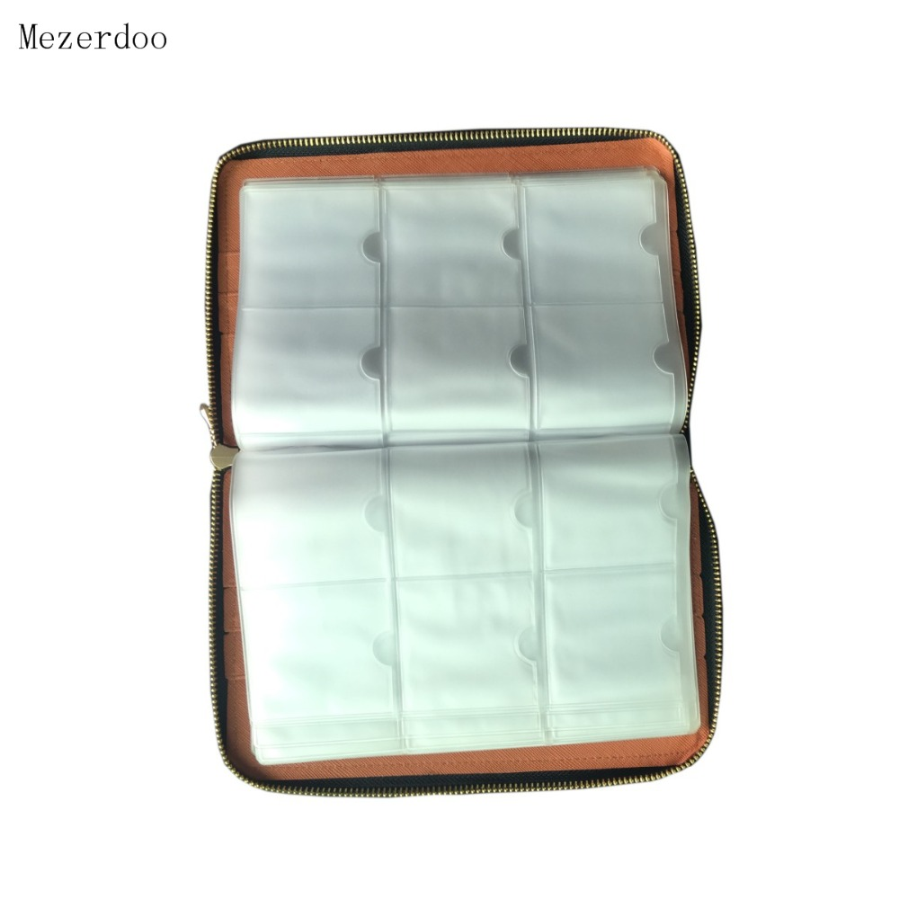 1 дана 240Slots Nail Stamping Plate Holder Case + 10 дана - Маникюр - фото 4