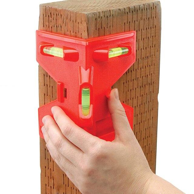 Cilindro dobrável, nível magnético de alta precisão, tubo de alta precisão, mini nível de bolha, para tubo, instalação de pilares de madeira