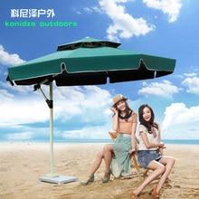 3 large outdoor umbrellas Mi Luoma umbrella patio sun beach folding garden booth