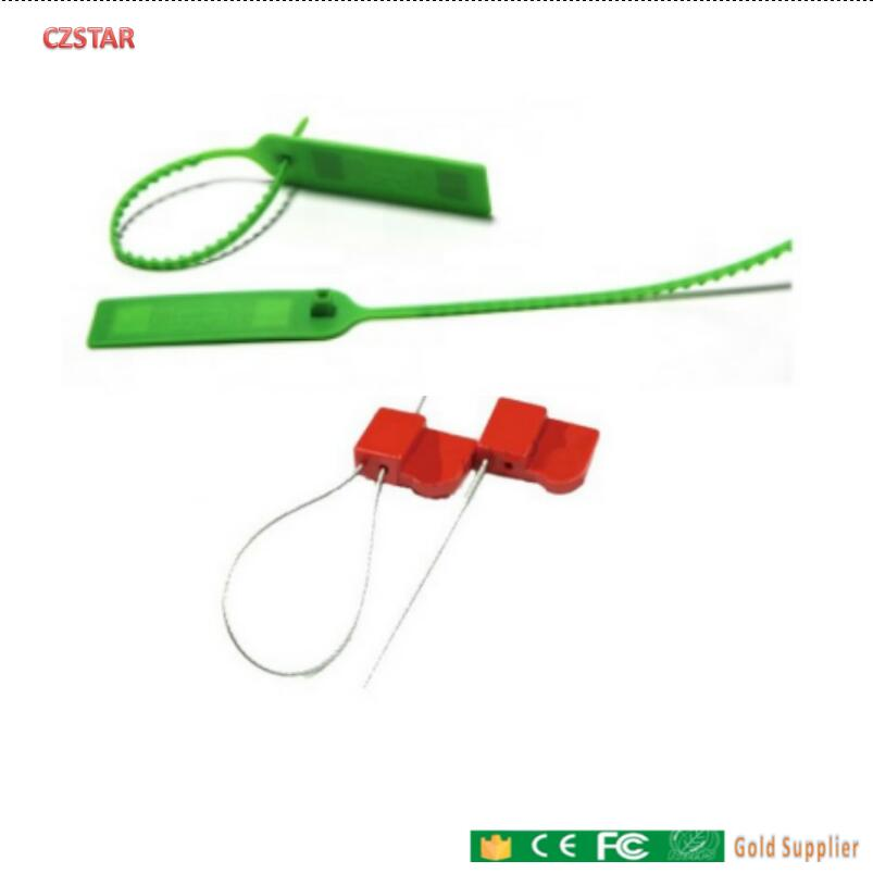 Tamper-proof Container Seal Lock Passive Plastic Seal Tag UHF RFID Cable Tie Tags Self-locking Cable Ties Plastic Seal Tag Long