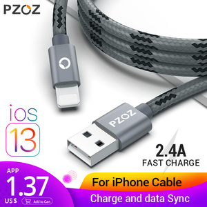 PZOZ usb cable for iphone cable Xs max X