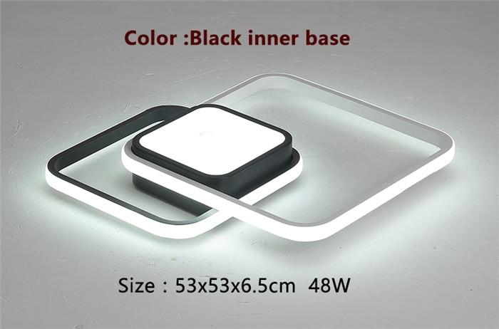 53x53cm Black base
