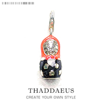 Russian Doll Matryoshka Charms Pendant Fit Bracelet From Charm Collection European Club Thomas Style Fashion Jewelry