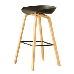 Простой Стиль твердая древесина стул барный Многофункциональный обеденный стул с подножкой Бытовые балкон стул отдыха спереди стол стул
