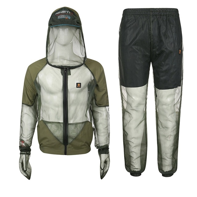 Outdoor fishing clothes mosquito suit anti mosquito for Two fish apparel