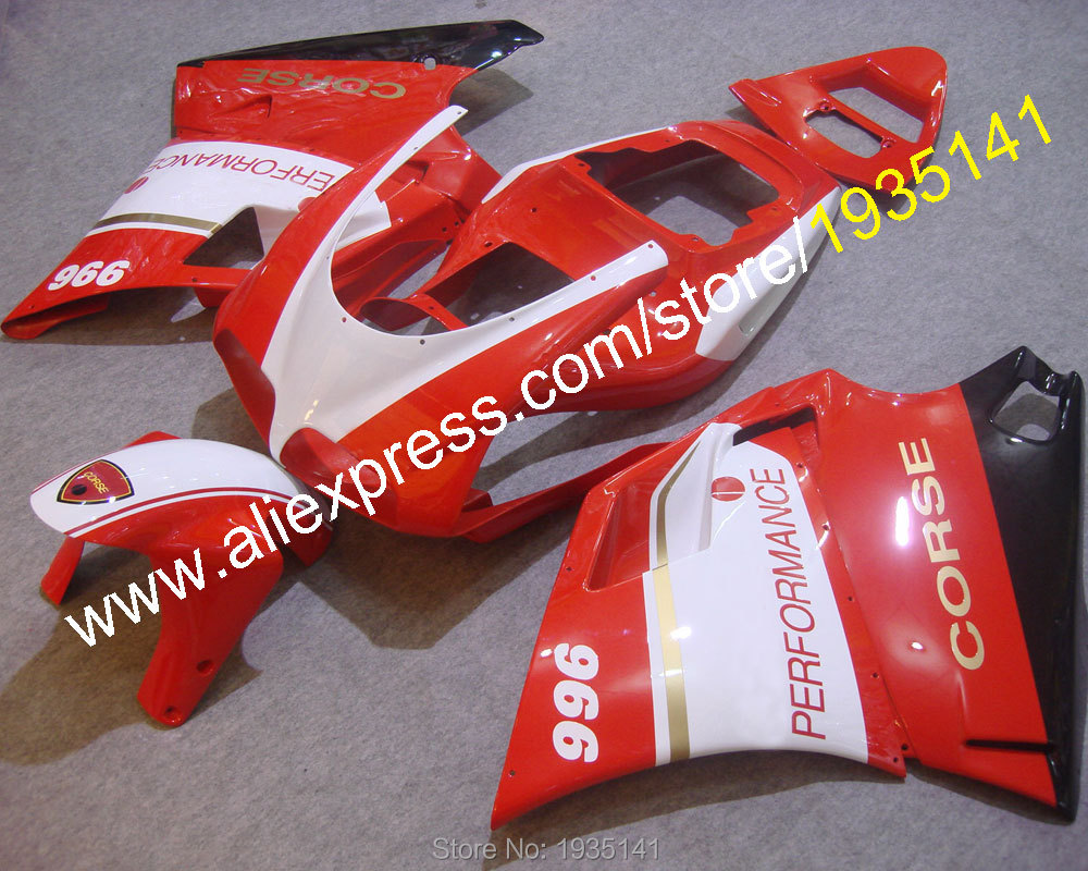 Hot Sales, Newest Motorbike Cowling For Ducati 996 748 1996-2002 DUCATI 748 996 fairing 96 97 98 99 00 01 02 (Injection molding)