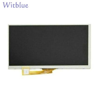 Nueva matriz de pantalla LCD Witblue para tableta de 7