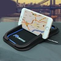 R дизайн анти-скольжения Мат Автомобильный Мобильный держатель телефона GPS для Volvo XC60 XC90 S80 S60 C30 C70 S40 Автомобильный интерьер автомобильные ак...