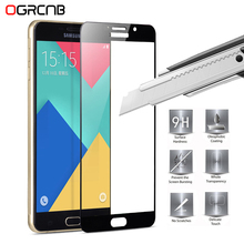 9H Full Cover Tempered Glass For Samsung Galaxy J3 J5 J7 2016 2015 Screen Protector S6 S7 Protective