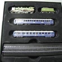 Редкое Специальное предложение 1:220 BLEU Z пропорциональный Поезд Люкс Супер Изысканная статическая модель поезда