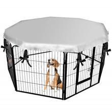 Dog Cage Cover Outdoor Folding Pet Sun Shade Awning Rainproo