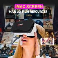 Google Cardboard VR BOX Virtual Reality Lunette 3D Glasses Goggles 3 D Vrbox Remote Control Gamepad
