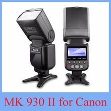 2017 НОВЫЙ Meike МК-930 II Вспышка вспышка/Speedlite для Canon 6D EOS 5D 5D2 5D Mark III II КАК Yongnuo YN-560 YN560 II YN560II