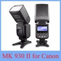 2017 NIEUWE Meike MK-930 II Flash Speedlight/Speedlite voor Canon 6D EOS 5D 5D2 5D Mark III II ALS Yongnuo YN-560 YN560 II YN560II