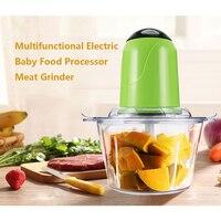 Multifunctional Household Electric Meat Grinder 4 Stainless Steel Blades Mincer Grinder Home Food Processor Mixer Fruit
