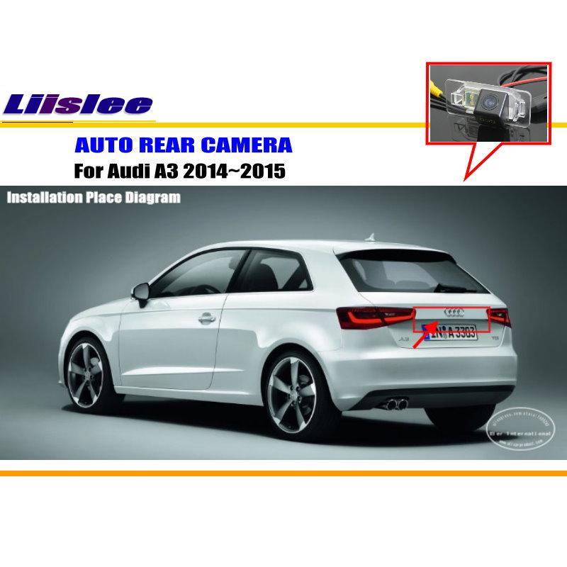Liislee Car Rear View Camera For Audi A3 2014~2015
