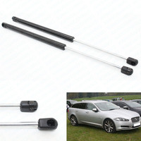 2pcs Auto Tailgate Rear Trunk Lift Supports Shock Gas Struts Spring For Jaguar XF 2 0T