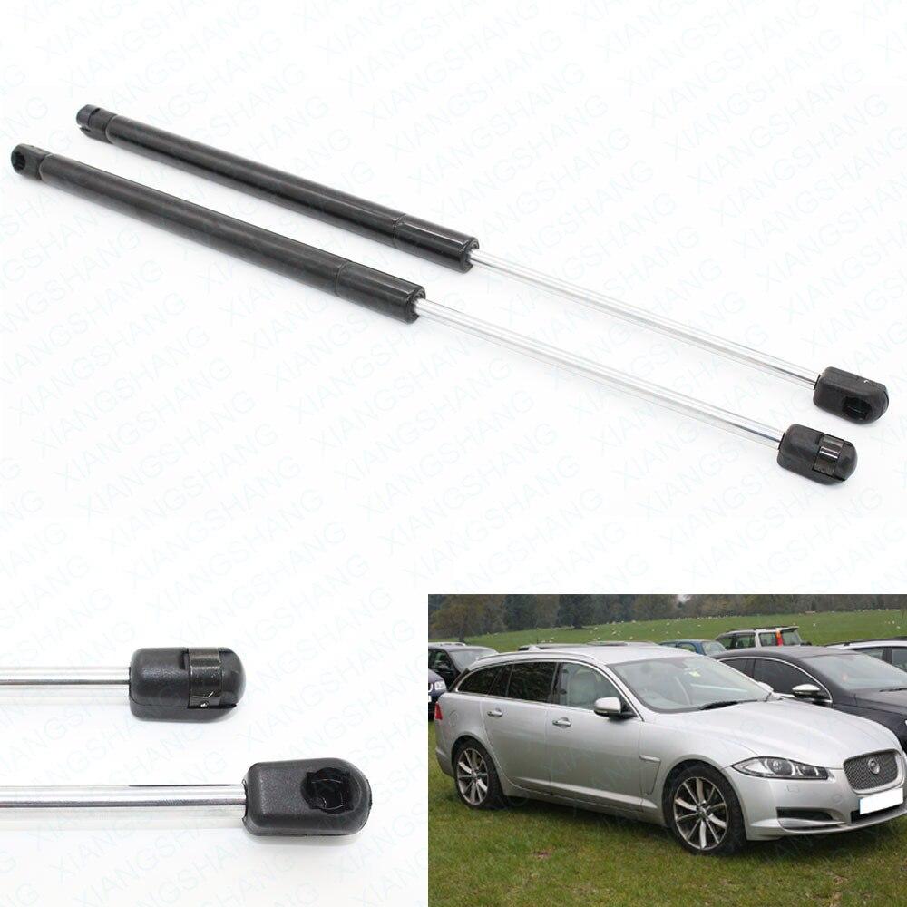 цена 2pcs Auto Tailgate Rear Trunk Boot Lift Supports Shock Gas Struts Spring for Jaguar XF 2.0T 3.0L Premium Luxury 2009-2015 350 mm онлайн в 2017 году
