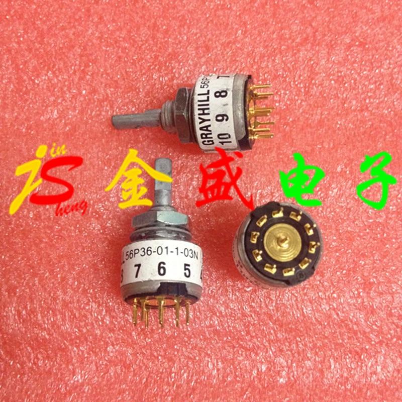 Original import rotary switch rotary encoder 56P36-01-1-03N quality assurance rotary encoder aps3 12gmc2 z