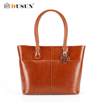 DUSUN 2016 New Women Handbag Genuine Leather Women Bag Luxury Brand High Quality Bag Casual Tote