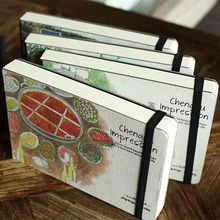 Kreative 288 Blätter Eindruck Hand bemalt Notebook Mode Druck Graffiti Sketch Große Geschäft Geschenk Notizblock
