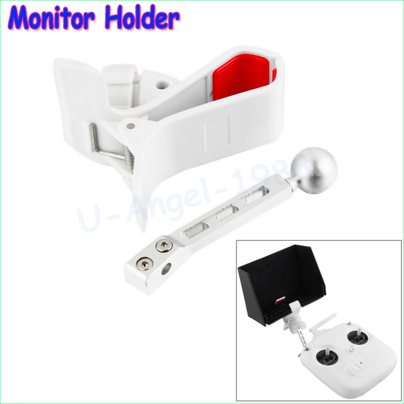 1pcs FPV LCD Monitor Transmitter RC Controller for  Phantom Mount Holder Drop Wholesale Dropship fpv display mounting bracket metal holder shortcut for dji rc transmitter