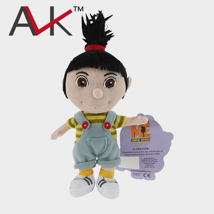 New Arrival High Quality Plush Toy Despicable Me 2 Movie Minions Agnes Girl cute figure doll