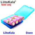 Новинка 100% оригинальный Liitokala 18650 3000 мАч перезаряжаемые батареи INR18650 30Q литиевая батарея