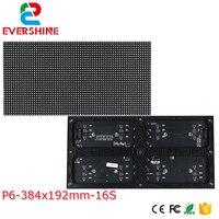 Vender P6 módulo LED 384*192mm 64*32 píxeles 3in1 1/16 Scan Indoor SMD3528 3in1 P6 a todo color RGB led módulo señal