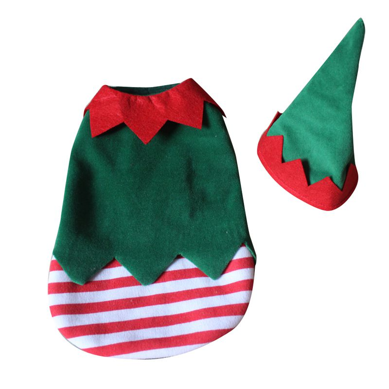 Pet Clothes Christmas Clown Dog Suit Dog Supplies Into A Funny Suit Costume Dress Coat Halloween Party Costume Coat Cosplay