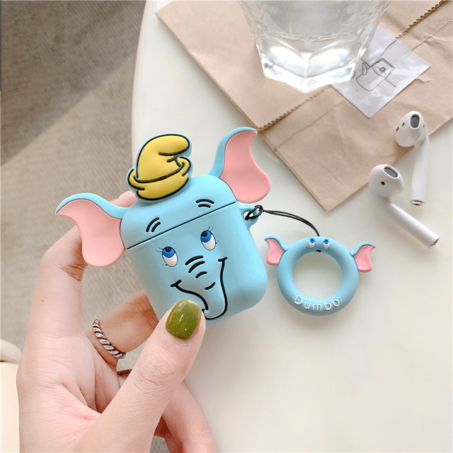 Cute Elephant AirPod Case 1